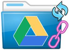 Google drive de Linki değiştirmeden dosya güncelle