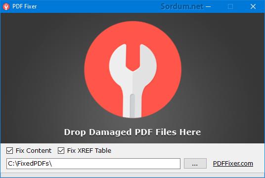 pdf fixer yazılımı ile dpf tamiri