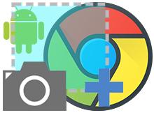 Android Google chromede ekran görüntüsü aracı