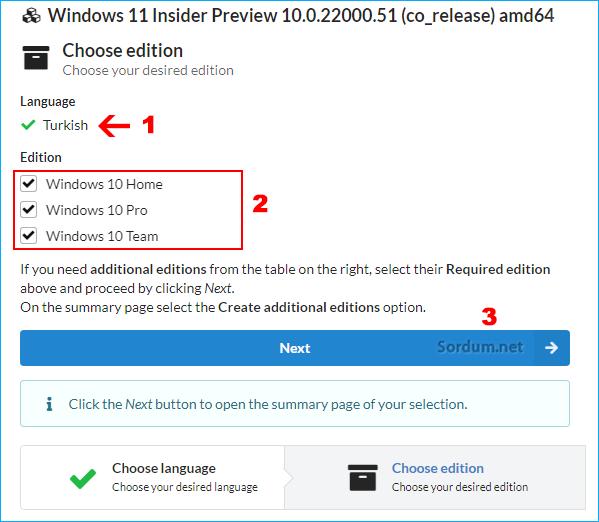 Windows 11 indirme sayfası