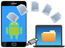 Android telefonu USB ye bağlayıp direkt dosya aktarın