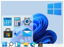 Windows 11'de Görev Çubuğu Simgelerini sola alın