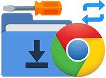 Chrome inen dosyanın nereye kaydedileceğini sorsun