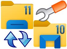 Windows 11 de klasik Dosya gezginine geri dönün