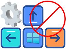 Windows kısayol tuşlarını iptal et